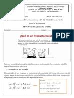 Guía Productos y Cocientes Notables1