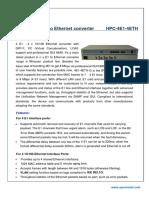 HPC-4E1-4ETH