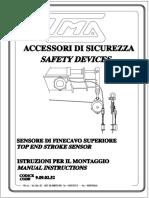 TMA 9.09.02.52 Sensore