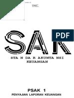 PSAK 1 (2018) - Penyajian Laporan Keuangan