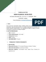 CV DEL ING.KEVIN MENA