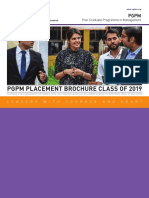 PGPM Placement Brochure - Class of 2019.pdf
