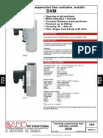 DKM Flowmeter-da723-01