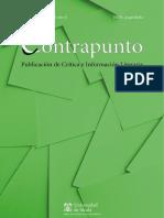 Revista Contrapunto (UAH). Número 35