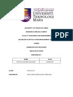 Reflective Paper Asm403