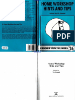 Workshop Practice Series 26 - Home workshop Hints and Tips