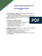 1473 Diagnostic Area Viabilitatii Economice Si Manageriale (S.C. XYZ1 S.a.)