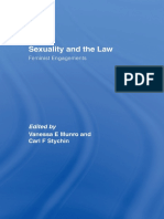 Sexuality and the Law Feminist Engagements