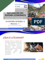 2. Naturaleza del sistema económico