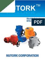 NTQ electric actuator