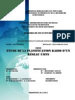 Etude de la planification radio d'un réseau umts.pdf