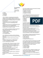 Assessment and Evaluation of Learning 2.docx