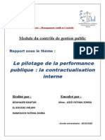 Contractualisation Interne