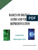 1_Basics on Digital Audio and Video Representation