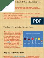 wine glases