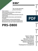 PRS-D800_manual_NL_EN_FR_DE_IT_RU_ES