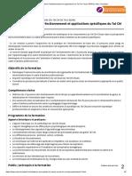 Formation Perfectionnement et applications du Tai Chi Chuan PARIS _ Artec Formation
