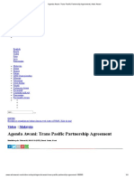 Agenda Awani_ Trans Pasific Partnership Agreement _ Astro Awani