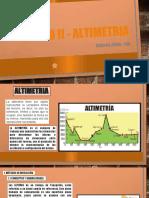 Modulo-ii-altimetria