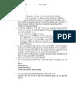Vencint C. Laran BSA 2B Law on Sales Quiz 1