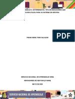 Actividad 3 Determinar el tipo de indicadores que la organizacionutiliza para su sistema de gestion