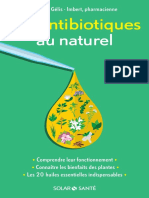 Les antibiotiques au naturel Pascale Gélis Imbert