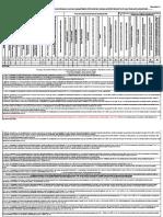 Tabela calcul Uzura MF in scopul impozitarii