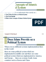 Powerpoint of Concept of Islamic political