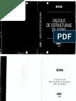 Cálculo de estructuras de acero - ICHA 1986