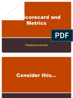 HR Scorecard 2 - Practical Example and Some Metrics
