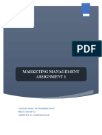 Marketing Assignment (MBA 1) (AutoRecovered).docx