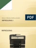 IMPRESORAS I