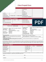 Client Prepaid Form 2017