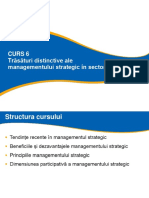 CURS 6 EPSIP_Trasaturi distinctive ale managementului strategic