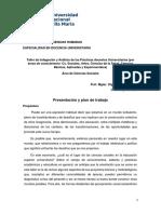PLAN DE TRABAJO-CIENCIAS SOCIALES-