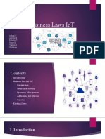 Business Laws IoT r