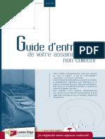Guide d entretien. de votre assainissement non collectif