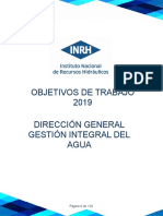 Objetivos Trabajo 2019 DGIA versión final 16-10-2019