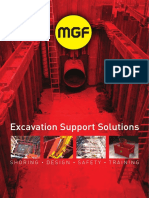 PRODUCTS PRODUC & SERVICES SHORING DESIGN SAFETY. Excavation Support Solutions. uilt on trust and reliability,  SAFETY SHORING DESIG