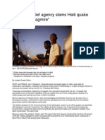 AlertNet Haiti - Oxfam Report Review