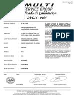 LVL16-0104 - EQUIPO EQUIVALENTE EN ARENA PINZUAR MODELO PS-7 SERIE 853