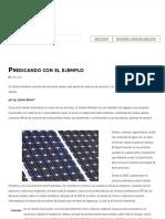 Predicando con el ejemplo _ ACR Latinoamérica
