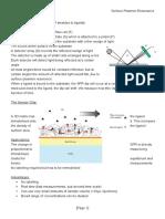 Optical Spec 7 - Surface Plasmon Resonance