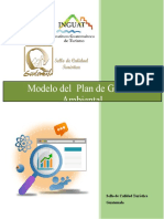 Modelo de Plan de Gestion Ambiental