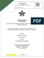 Usar herramientas tic, de acuerdo con los requerimientos, manuales de funcionamiento, procedimientos y estándares - MARIELA CHAPARRO.pdf