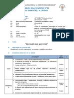 SESION DE APRENDIZAJE 22 -III - PFRH