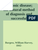 Chronic disease; the natural me - Burgess, William Harvey, 1842-.epub