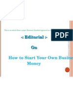 How to Make Your Business Without Money-prince Dudhatra-9724949948