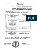 1. Andhra Pradesh Form 23
