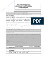 Lista de Chequero AP02 - Producto